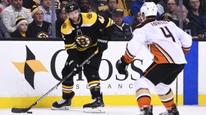 David Backes Addresses Nick Ritchie's Blindside Hit During Bruins' Loss To Ducks