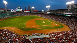 Red Sox Host Valentine's Day Celebration For Senior Citizens At Fenway Park