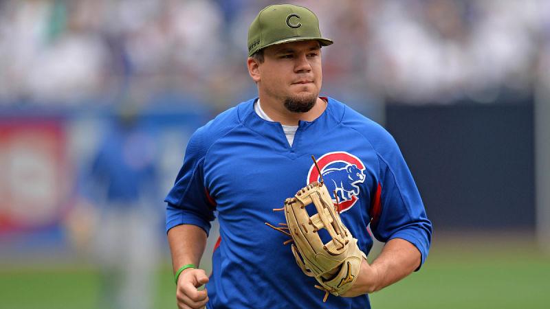 Chicago Cubs outfielder Kyle Schwarber