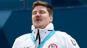 A Star Is Born: US Curler Matt Hamilton Celebrates Winning Olympic Gold