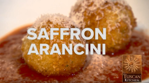 Dining Playbook: Dish Delish: Tuscan Kitchen's Saffron Arancini