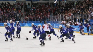 Watch Team USA Beat Canada On Filthy Shootout Goal To Win Olympic Gold