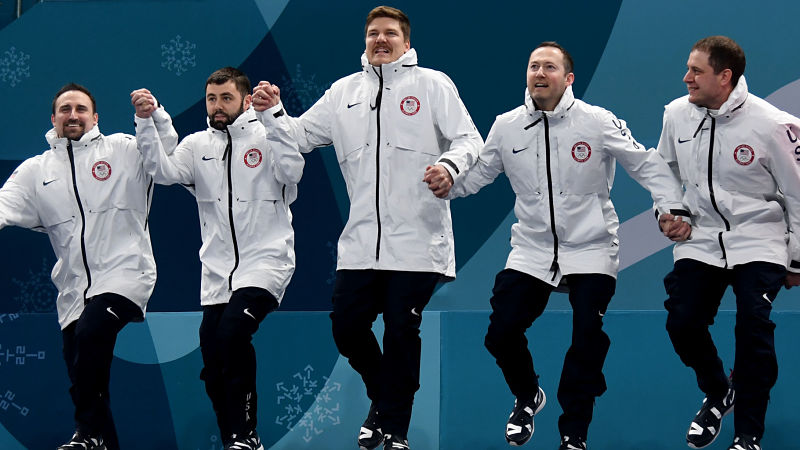 United States curling team