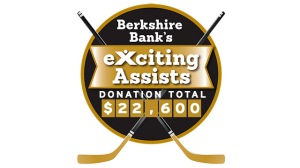 Berkshire Bank Foundation To Donate $100 For Each Bruins Assist To Boston Cares