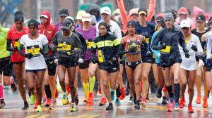 Patriots Fan Trolls Falcons With '28-3′ Sign At 2018 Boston Marathon