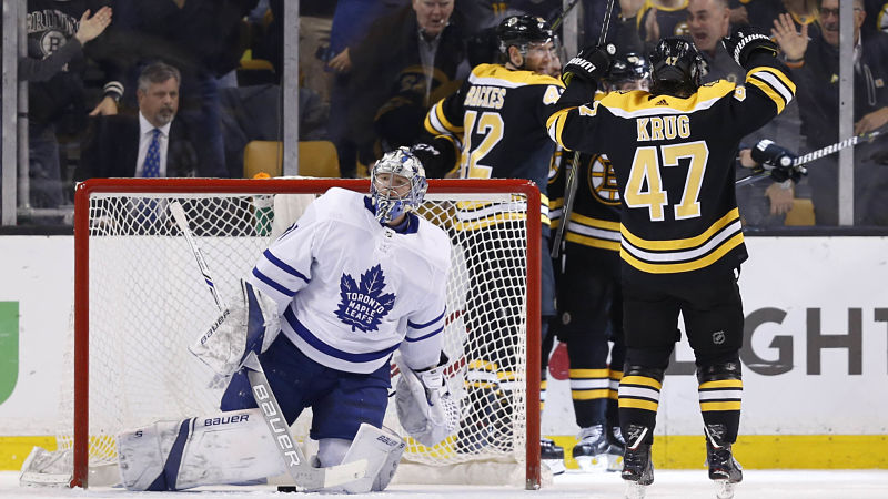 Why Bruins Were Confident They Would 'Break' Leafs In Game 7 Third Period