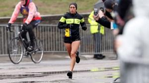 Desi Linden Waited Out Runner's Pit Stop And Still Won Boston Marathon