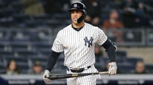 Yankees' Giancarlo Stanton 'Will Be Down A Bit' With Right Calf Strain