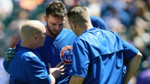 Scary Kris Bryant Hit-By-Pitch Draws Ire Of Chili Davis, Cubs Coaches