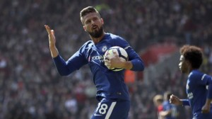 Chelsea's Olivier Giroud Scores Goal Like Lionel Messi In FA Cup