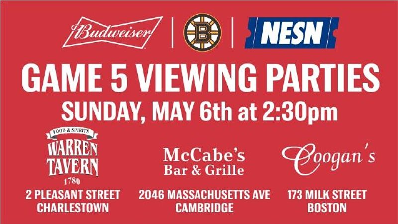 Budweiser viewing party