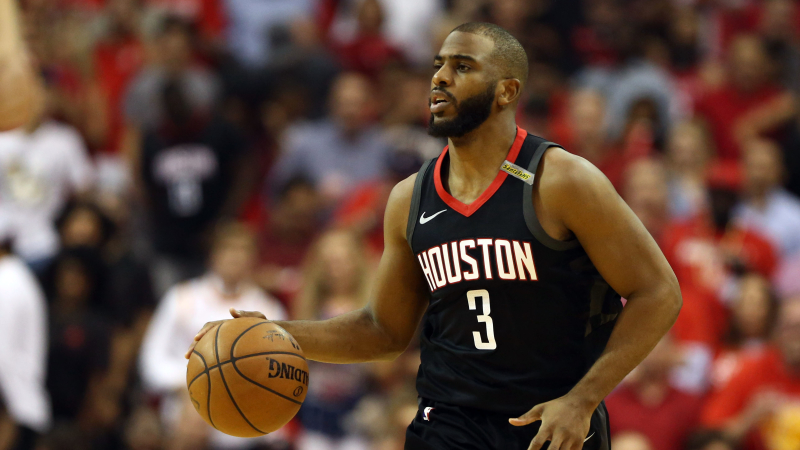 Houston Rockets point guard Chris Paul