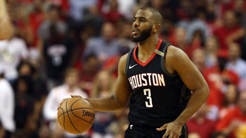 Houston Rockets point guard Chris Paul