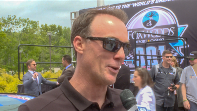 Kevin Harvick Takes Break From Dominating Cup To Hang Out At Foxwoods