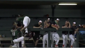 This College Baseball Game Featured Two Of Best Catches You'll See All Year