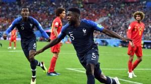 France Vs. Belgium Live: France Wins, Reaches Final On Samuel Umtiti's Goal