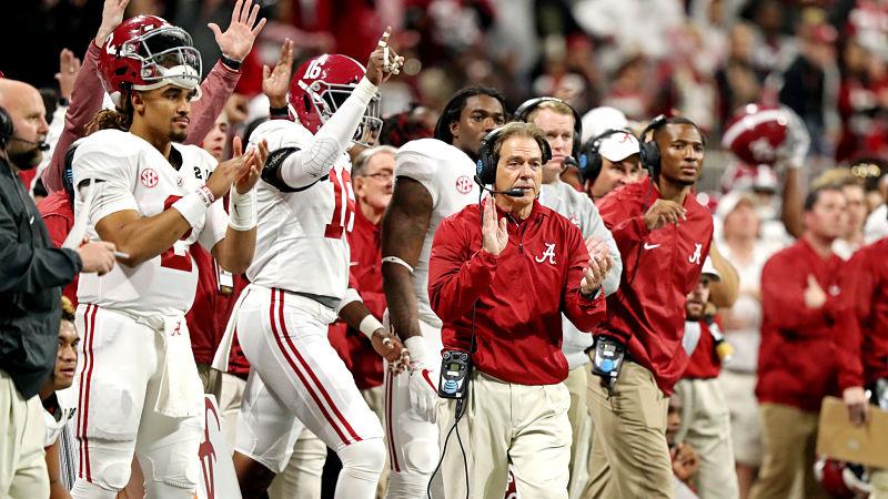 NCAA Football Odds: Alabama Heavily Favored Over ...