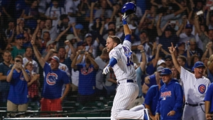 Cubs Rookie David Bote Offers Explanation For Bat Flip After Walk-Off Grand Slam