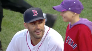 Jimmy Fund Patients Joining Red Sox Players On Field Will Warm Your Heart