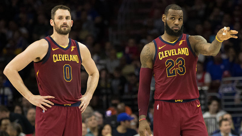 LeBron James Gave Kevin Love Uplifting Message After He Revealed Anxiety Problems