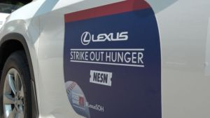 Lexus To Donate $50 To Greater Boston Food Bank For Every Red Sox Strikeout In 2019