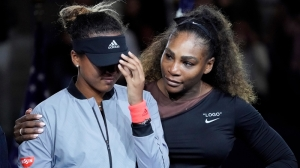 Here's What Serena Williams Told Naomi Osaka After Bizarre U.S. Open Final