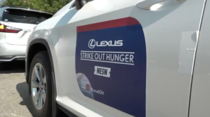 Lexus And Greater Boston Food Bank's 'Strike Out Hunger' Campaign Hits Home Stretch