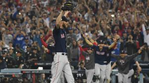 Watch Red Sox's Chris Sale Strike Out Manny Machado To Clinch World Series Title