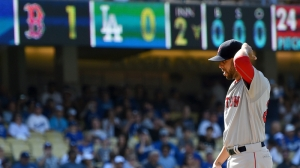 Red Sox Introduce Fitting World Series Hashtag For Dodgers; Celtics Approve