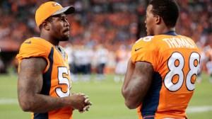 Broncos' Von Miller Reacts To Demaryius Thomas Trade With Comical Sadness