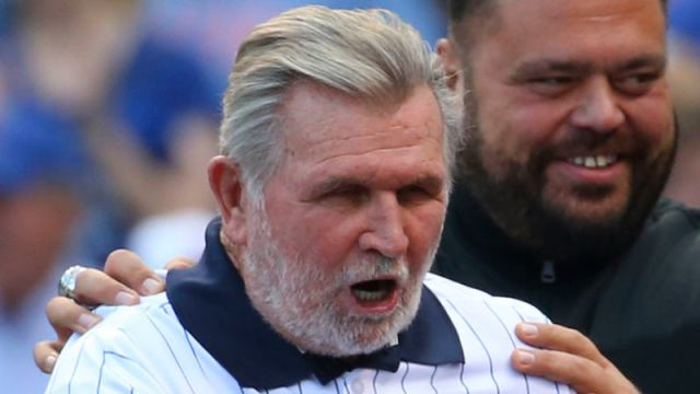 Mike Ditka's 'Take Me Out To The Ballgame' Rendition Was Predictably Terrible