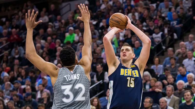 Denver Nuggets' Nikola Jokic