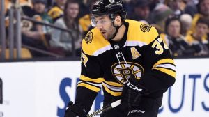 Patrice Bergeron's Scoring Is Fueling Bruins' Success Early In New NHL Season