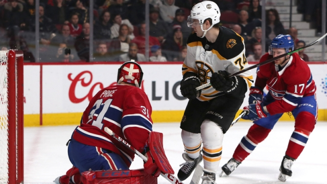 Jake DeBrusk Continues Hot Streak For Bruins With First-Period Goal