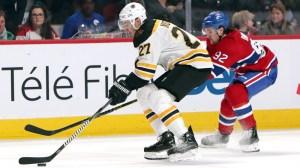 Bruins Defenseman John Moore Scores First Goal Of Season Vs. Canadiens