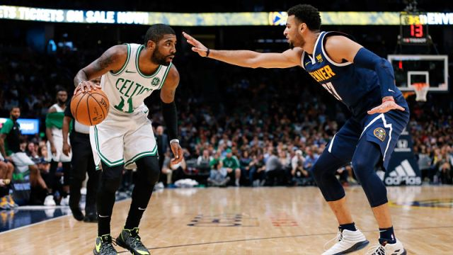 Celtics Notes: Kyrie Irving Not Happy With Jamal Murray's Late 3-Point Attempt