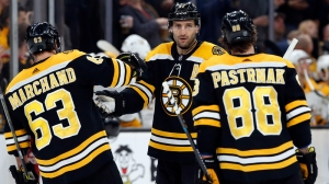 VA Health Care Hero Of The Week: Patrice Bergeron Scores Twice In Return