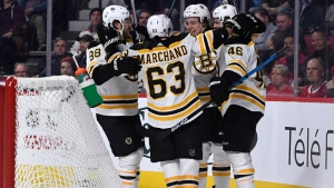 Berkshire Bank Hockey Night In New England: Projected Bruins-Capitals Lines, Pairings