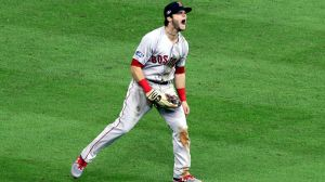 No. 7 Moment of Decade: Andrew Benintendi's Game-Saving Catch In ALCS Game 4