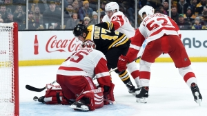 Bruce Cassidy Gives Ryan Donato Credit After Bruins' Loss To Red Wings