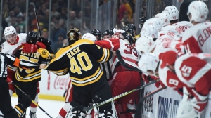Bruins Wrap: Boston Falls To Red Wings 4-2 In Physical Original Six Contest