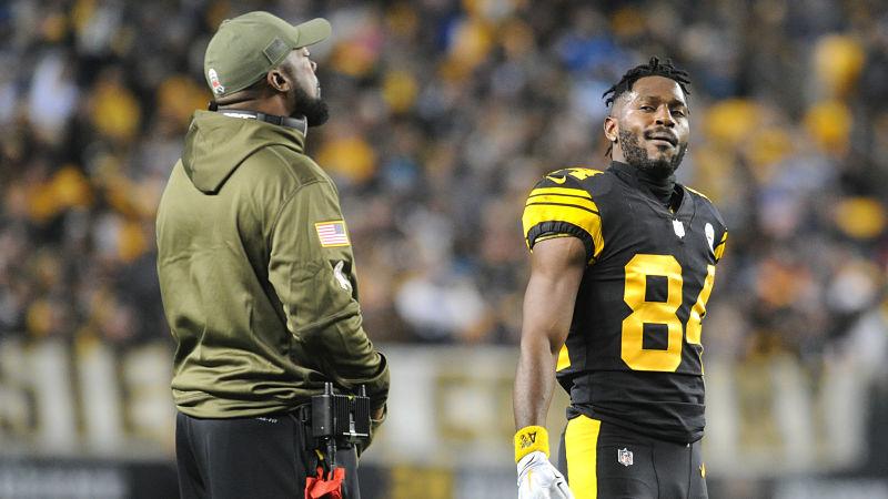 Antonio Browns Agent Briefly Addresses Steelers Stars Future