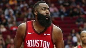 James Harden Had Priceless Reaction To Aces' Third Quarter Buzzer-Beater