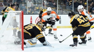 Bruins Wrap: Boston Drops Third Straight With Overtime Loss To Flyers