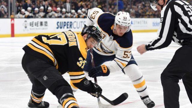 Berkshire Bank Hockey Night In New England: Projected Bruins-Sabres Lines, Pairings