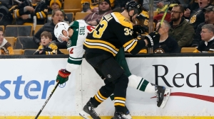 Berkshire Bank Hockey Night In New England: Projected Bruins-Wild Lines, Pairings