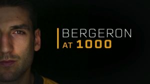 NESN To Commemorate Patrice Bergeron's 1,000th Game With A One-Hour Special