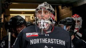 Northeastern's Cayden Primeau Solidifies Beanpot Legacy In Win Vs. BC