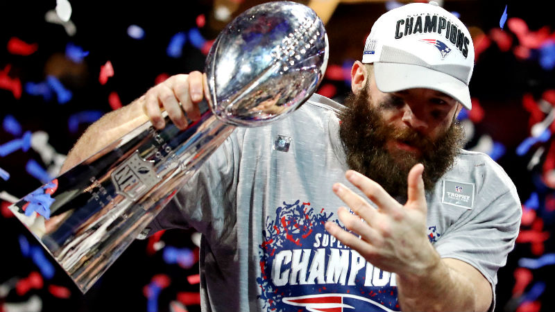 How Julian Edelman Went From College Qb To Super Bowl Liii