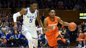 College Basketball Odds: Duke Pegged As Road Favorites Vs. Syracuse